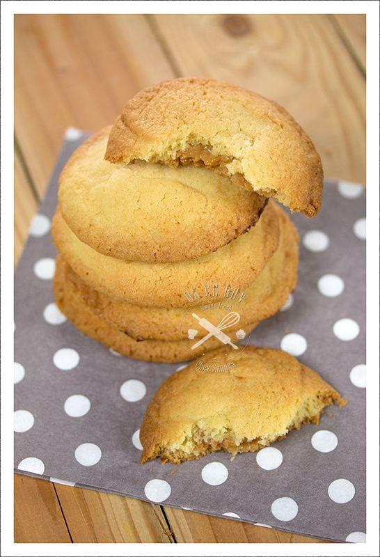 Cookies au dulce de leche Avec des cookies, vous êtes sûr de satisfaire chacun! Et ceux ci sont délicieux! Faîtes moi confiance, si vous les réalisez vous ferez des heureux. Ingrédients pour environ 12 cookies: 130 g de beurre mou 100 g de sucre 1 œuf...