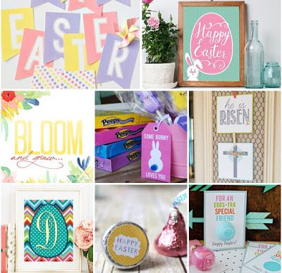 Ina's Place Invitations & Party Supplies: Manualidades para Pascua - Easy Easter Crafts by Martha Stewart. Have Fun!!