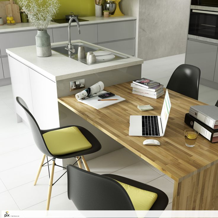 The Drop Level Solid Oak Dining Table Can Be Used For Food Prep A Workspace And Most Importantly Social Space