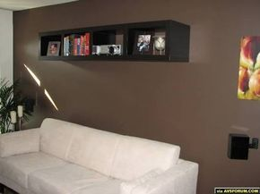 projector wall shelf - Google Search