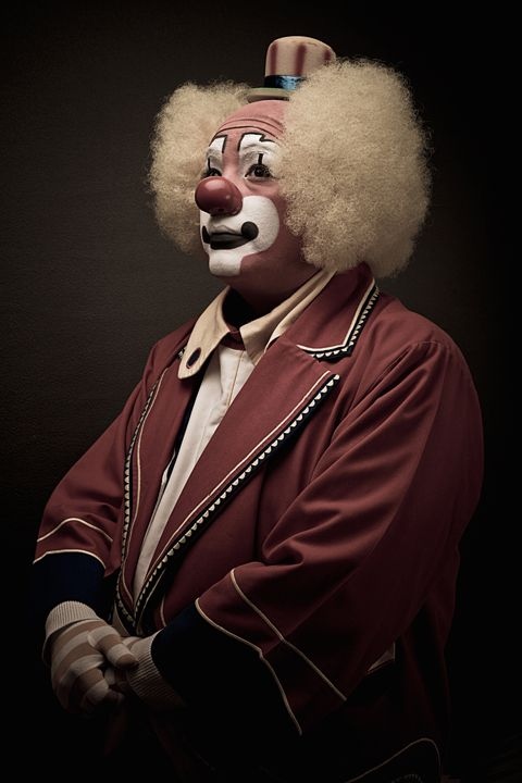 Famous Clown, Nicola Okin Frioli