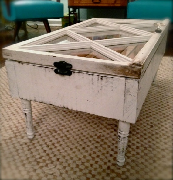 Repurposed Window Coffee Table Repurposed Stuff Pinterest