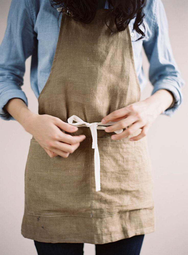 linen aprons - Google Search
