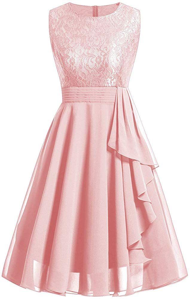 Laorchid Damen Kleider Vintage Abendkleid Armelos Spitzenkleid Chiffonkleid Brautjungfern Cocktail Partei Bekleidung In 2020 Kleider Glamourose Kleider Kleider Damen