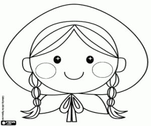 little red riding hood for coloring - Google Search