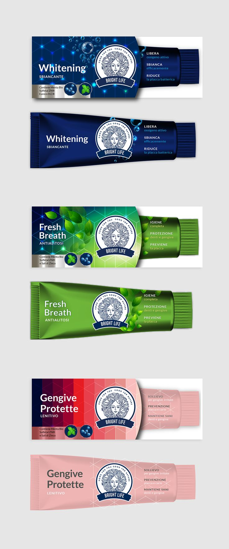 Toothpaste on Behance - toothpaste, dentifrico, #dentifricio, packaging, confezione