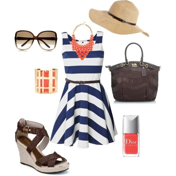 Cute summer outfit: Blue Outfit, Summer Outfit, Style Dresses, The Dress, Summer Night, Cruise