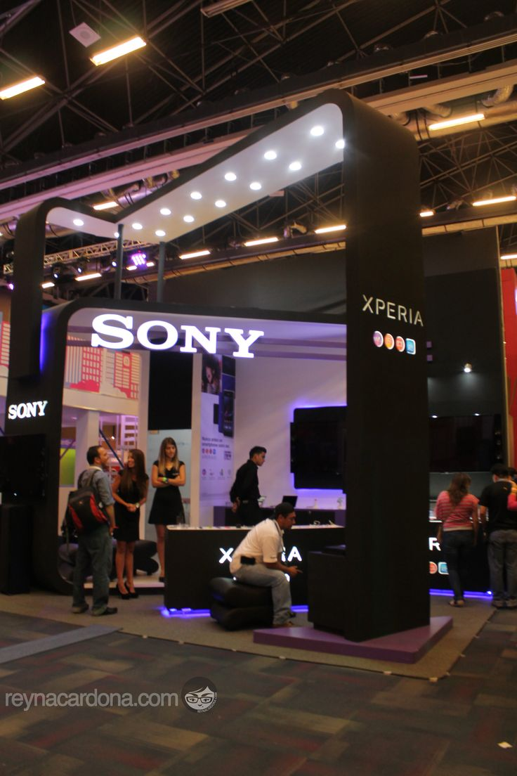 Stand Sony Xperia #CampusParty