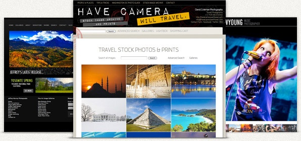Photoshelter - Dig in and design your own look & feel