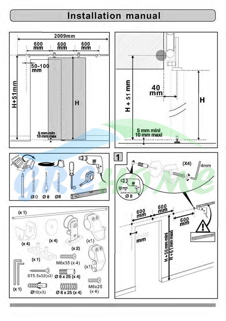 113 best puertas images on pinterest home ideas sliding - Herrajes puertas correderas ...