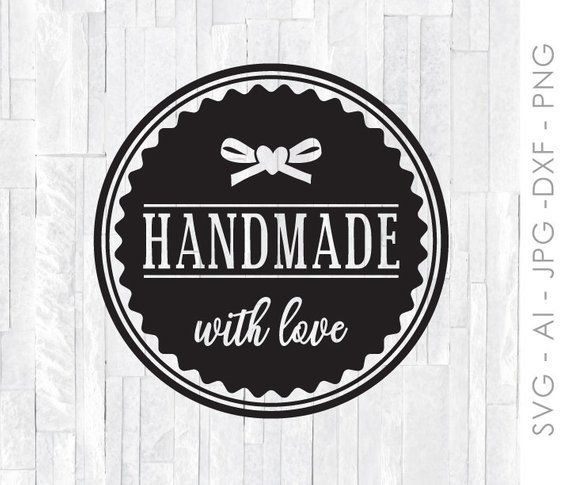 Download Handmade with Love Download, Printable Sticker for ...