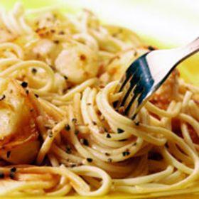 Spaghetti à l'ail