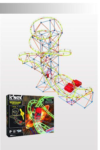 K'NEX Thrill Rides | Amusement Park Toys - Supernova Blast ...
