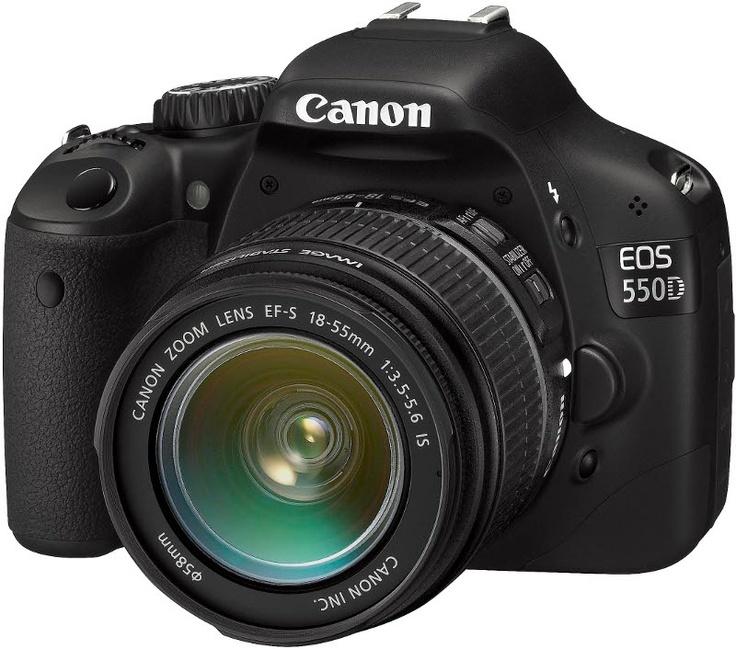 Camera: It's a Canon EOS 550D !