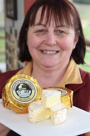 Dianne Benson of Apostle Whey Cheese.