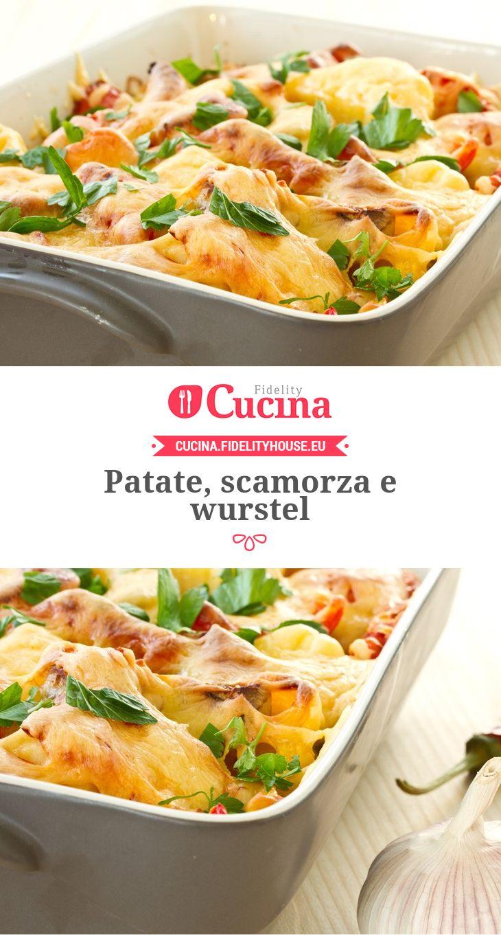 #Patate, #scamorza e #wurstel