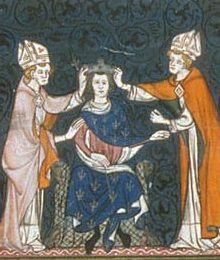 Sacre de Louis 2 le Bègue de France. Chroniques- 2) CONCILE DE TROYES (878): Accueilli début mai 878 par le comte Boson dans la ville d'Arles où tous les 2 séjournent quelques mois, il ouvre le 11 août 878 un concile à Troyes auquel les princes rechignent à se rendre. Toutefois à la suite de ce concile, Bernard de Gothie est destitué et excommunié avec son frère Emenon.