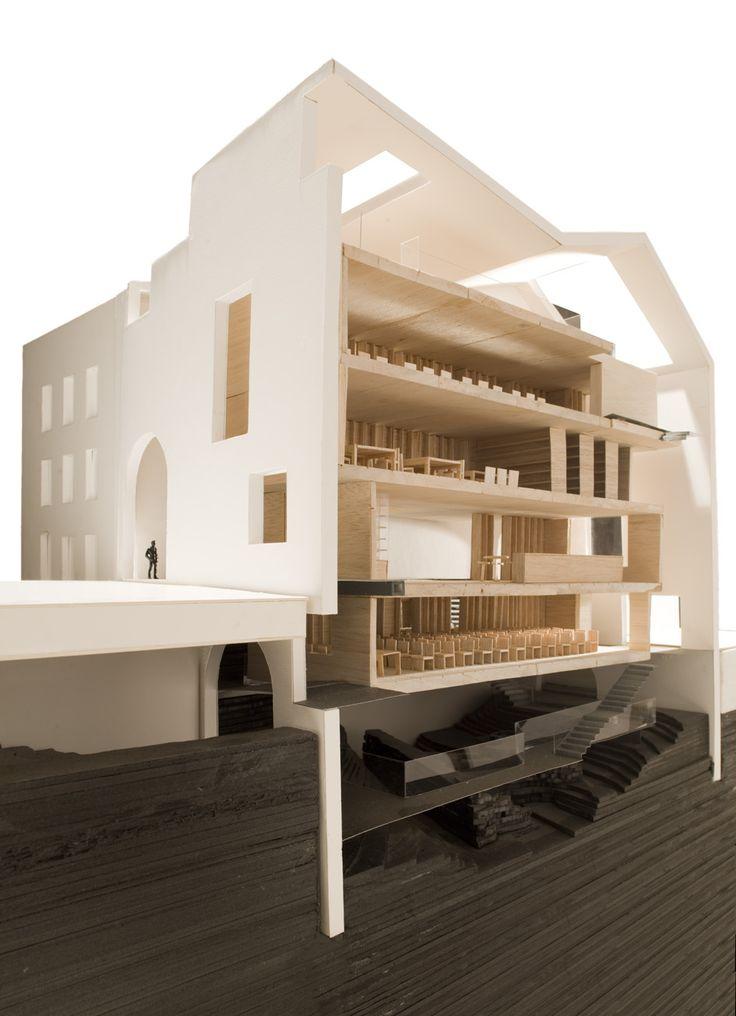 Headquarter of contemporary architecture foundation in - Cuac arquitectura ...