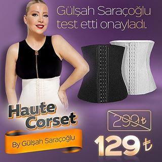 Haute Corset @gulsahsaracoglukorse Instagram profile - Pikore