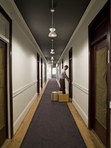 Hallway Carpet For Sound Isolation Project Olmsted