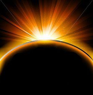 Солнечное затмение может повредить ауру