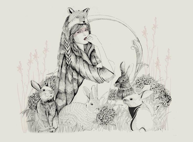 lobo <3 conejo
