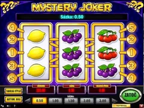 Mystery Joker automatovou hru nám přináší švédská firma Play'n Go...http://www.hraci-automaty.com/Mystery-Joker/
