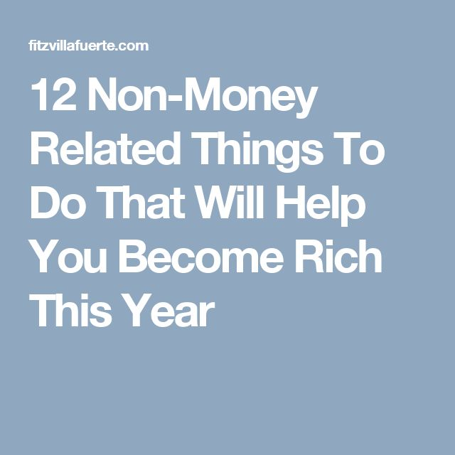 how to become rich in a year