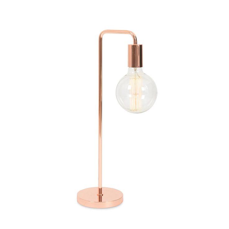 Heals Copper Junction Lamp
