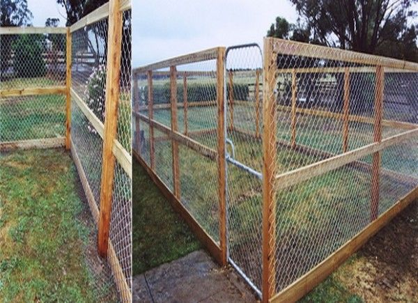 Cheap Dog Fence Ideas - Bing images