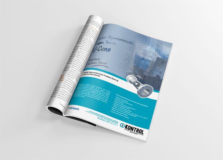 McCrometer'in Türkiye temsilcisi iKontrol'e, ST Proses dergisi için tasarladığımız buhar ölçüm cihazı reklamı...   #ÂLÂ #ÂLÂdan #Advertising #Creative #Ad #Ads #Advertise