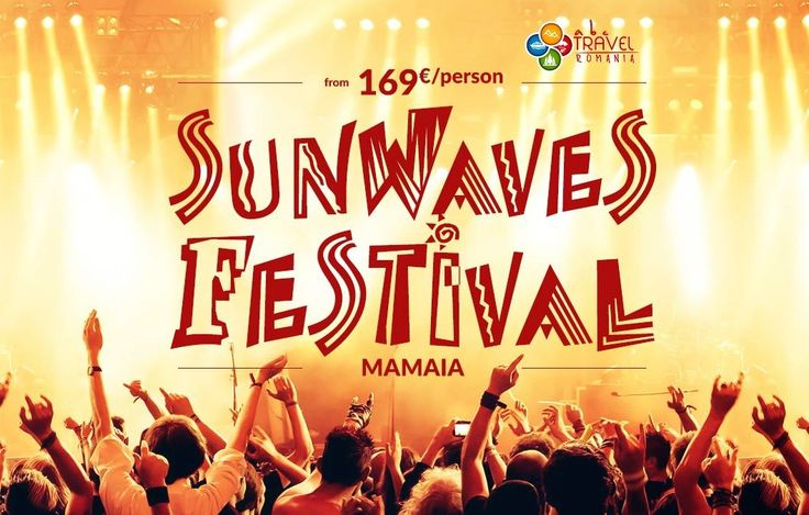 Get ready for Sunwaves Festival - Mamaia! An event where you can feel the vibe of electronic music and have some awesome moments with your friends. An amazing way to start your summer, don't you think? Hurry up and book your package now! #‎sw17‬ ‪#‎beachparty‬ ‪#‎mamaia‬ ‪#‎abctravelromania‬
