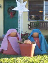 Yard Nativity - An Outdoor Nativity Set - ChristianCrafters.Com
