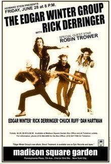Edgar Winter with Rick Derringer