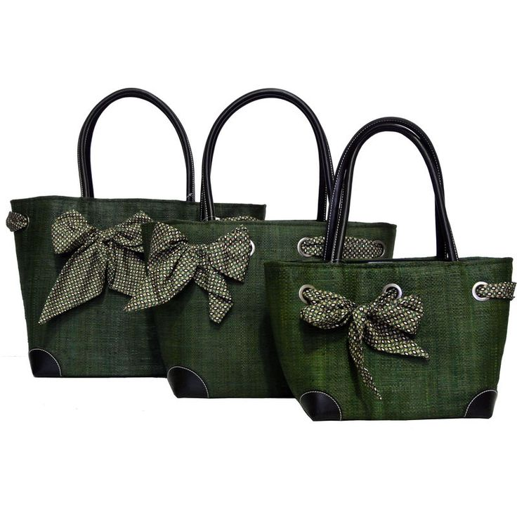 Beautiful Dark Green #Baskets are perfect for all occasions! They are extremely light weight, very durable and ideal for shopping!