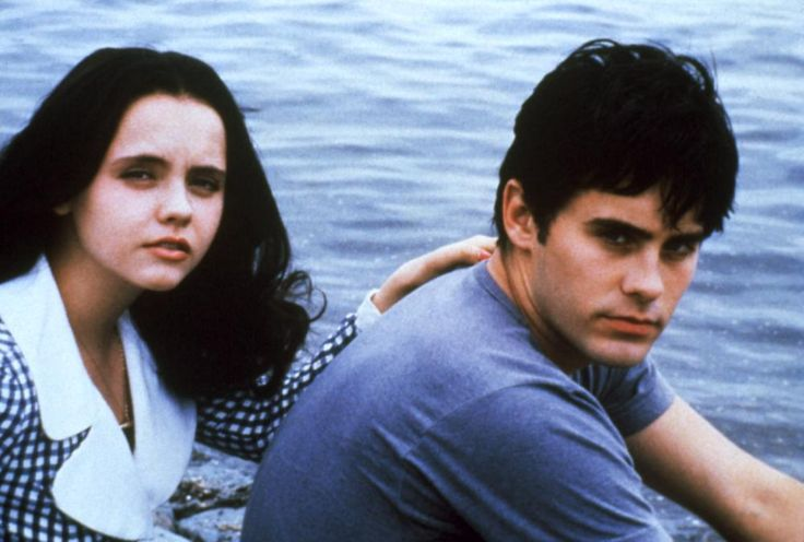 "Christina Ricci and Jared Leto in ""The Last of the High Kings"" (1996)"