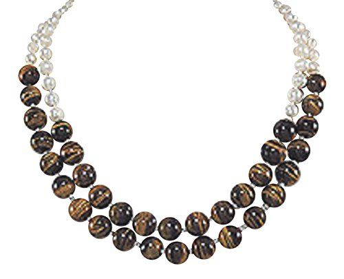 12mm Tiger Eye Gemstone and Fresh Water Pearls Women's Bead Necklace 43 inches 925e http://www.amazon.co.uk/dp/B018HBWXBW/ref=cm_sw_r_pi_dp_VEw7wb160N5A8