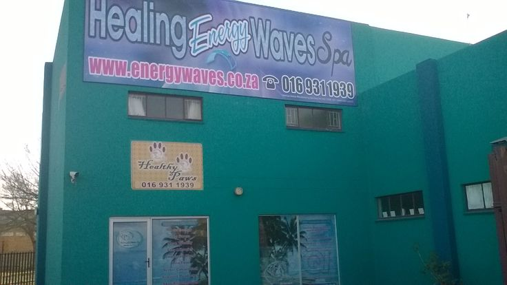 New 2.7m X 8m banner on our building - Vanderbijlpark
