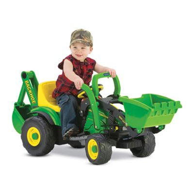 6 Volt Utility Tractor Loader Perfect For 2 4 Year Olds