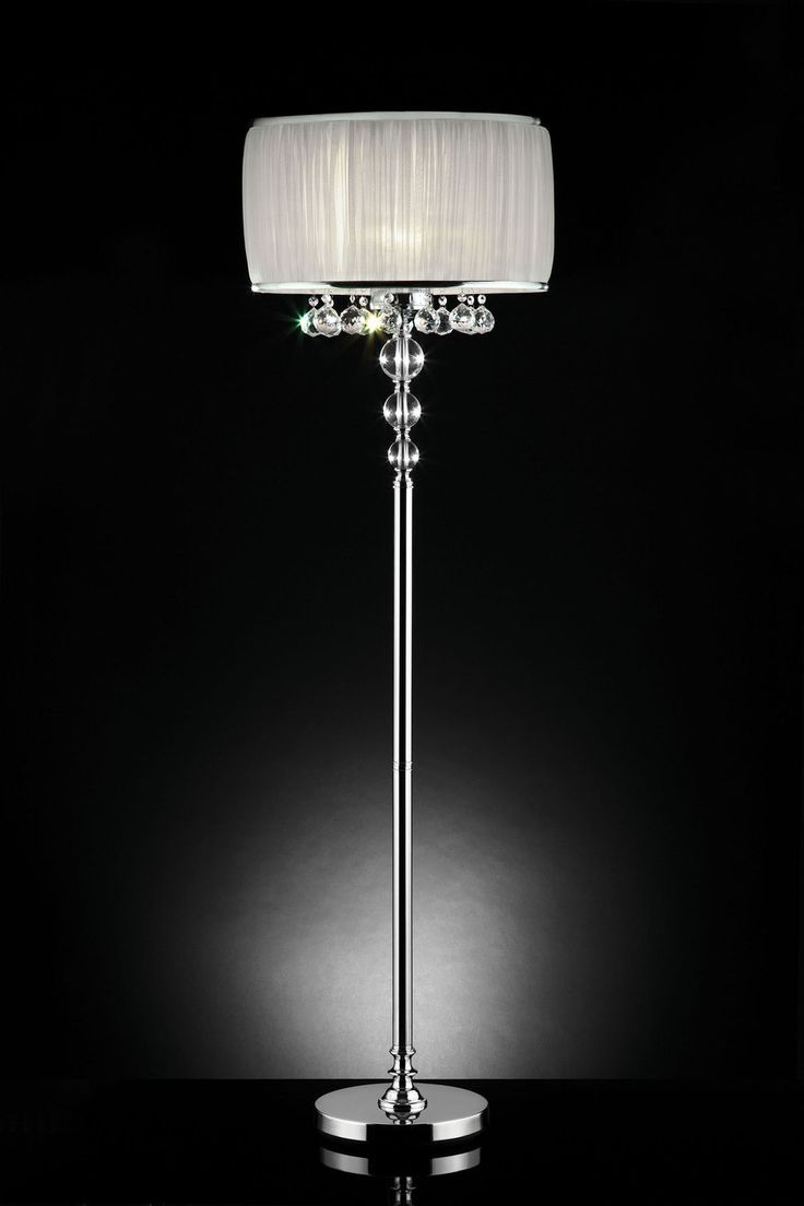 Crystal chandelier floor lamp - L95139f Floor Lamp Like Lamp Sale For 170