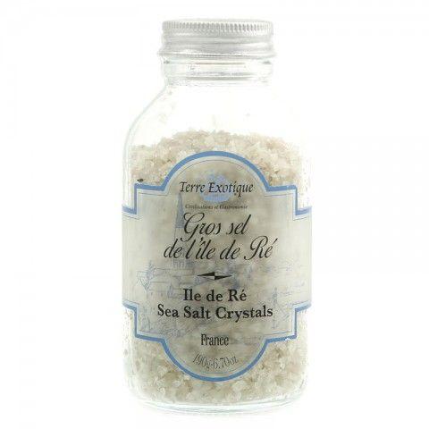 Gros sel de l''île de Ré' - Ile de Ré sea salt crystals