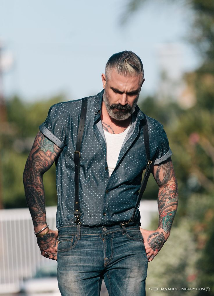 322 best boots n beards n tats images on pinterest for Jean button up shirt mens