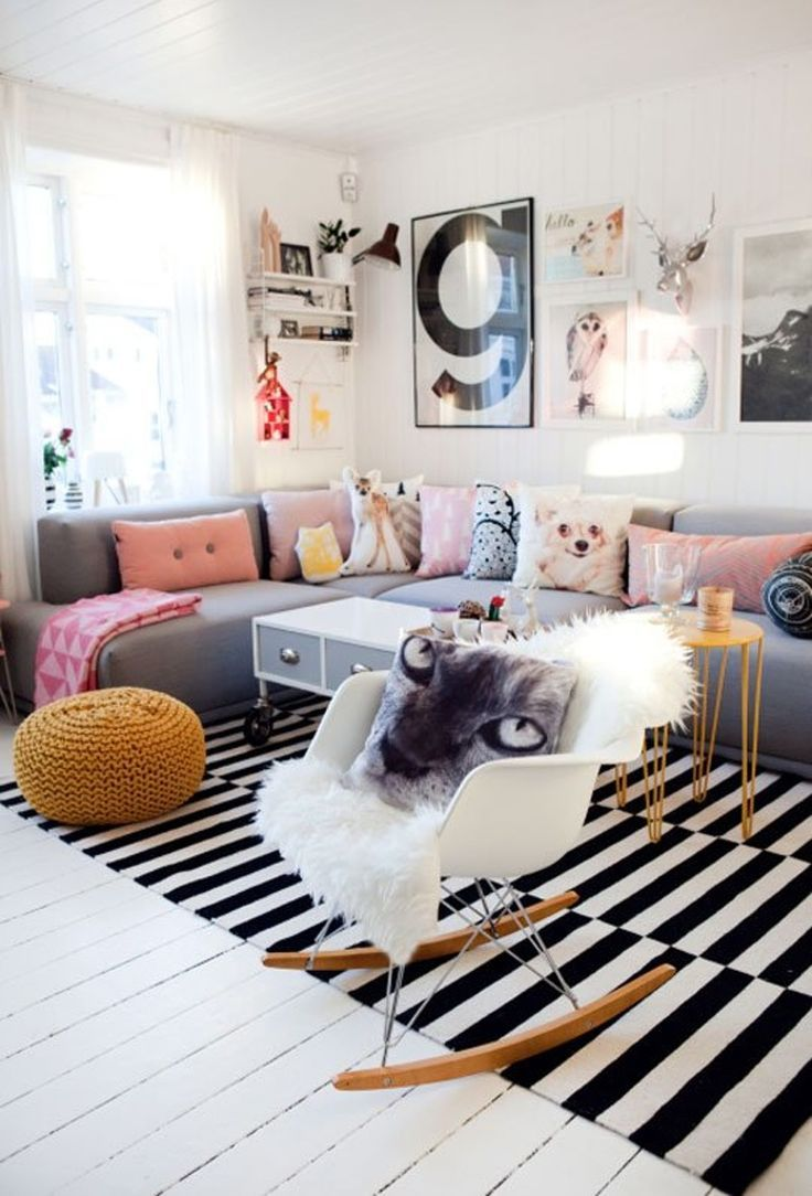 Casual living room ideas - The Anatomy Of A Cool Casual Living Room