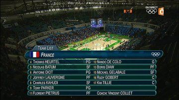Basket JO Rio France vs. Serbie - http://cpasbien.pl/basket-jo-rio-france-vs-serbie/