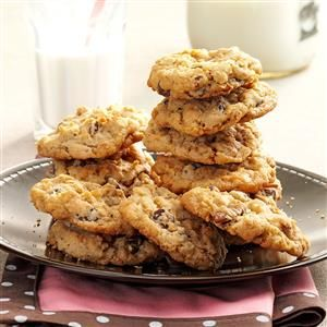 Wyoming Cowboy Cookies Recipe -These cookies are very popular here. They're great for munching anytime. —Patsy Steenbock, Shoshoni, Wyoming