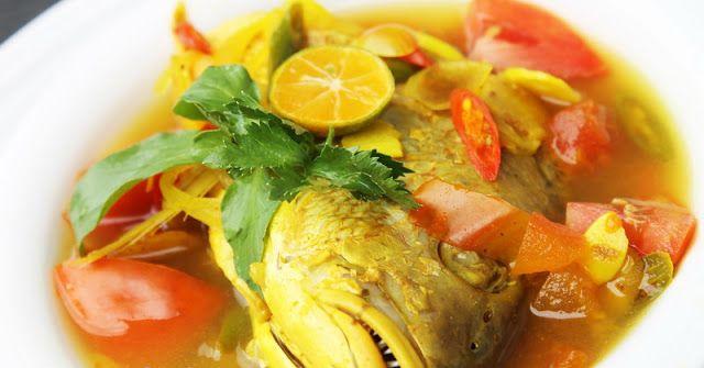 Resep Ikan Kuah Kuning Khas Maluku