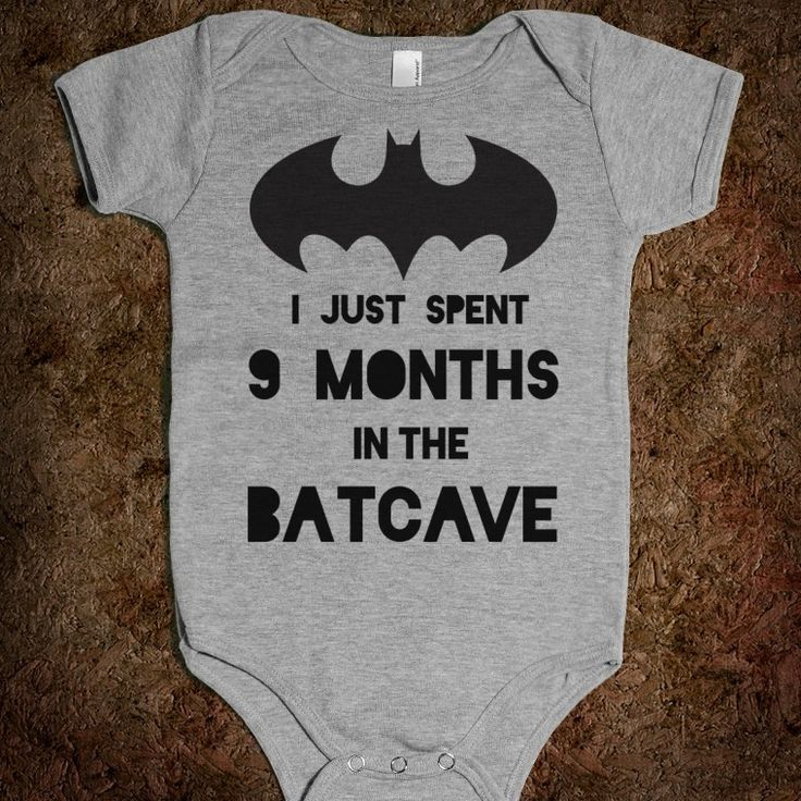 I Just Spent 9 Months in the Batcave - Well That's Just Super - Skreened T-shirts, Organic Shirts, Hoodies, Kids Tees, Baby One-Pieces and Tote Bags Custom T-Shirts, Organic Shirts, Hoodies, Novelty Gifts, Kids Apparel, Baby One-Pieces | Skreened - Ethical Custom Apparel