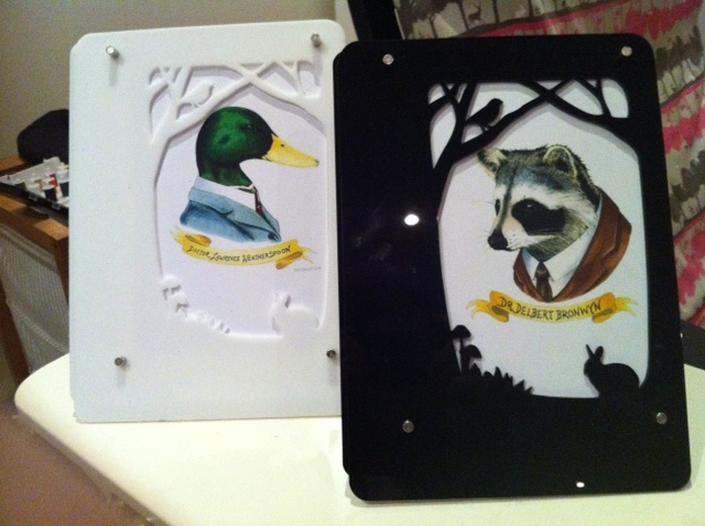 Woodland creature prints