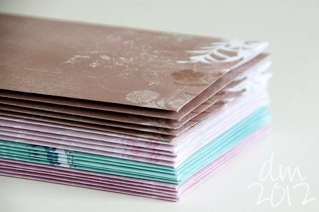 Papieren Avonturen: enveloppen envelopes