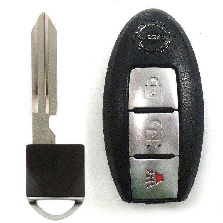 how to open nissan murano key fob